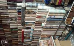 Sells and installation of wallpaper with 3D panels