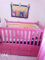 Pink Babycot for a little princess