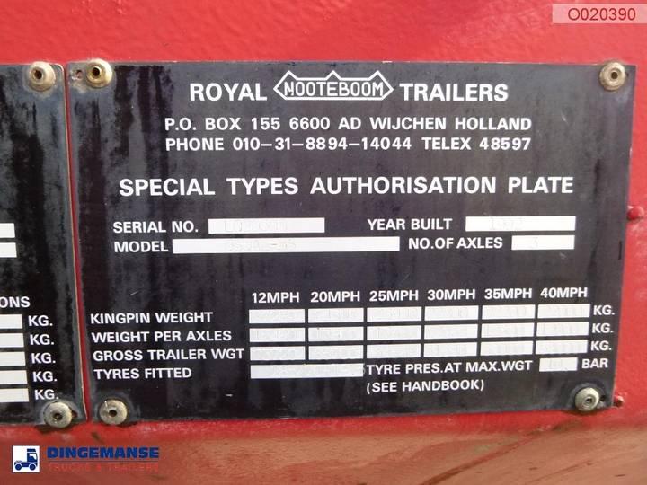 Nooteboom Semi-lowbed trailer OSDAZ-56 - 1992 - image 14