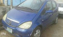 Benz A140 first body auto drive