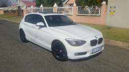 2013 bmw f20 118i A/T bluethoot sunroof service book usb R 172000