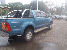 Toyota double cabin pick up hilux