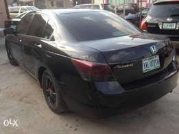 Registered Honda Accord 2009model less than a year used