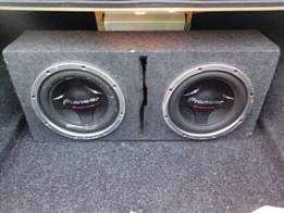 """12"""" Pioneer Subs in Box For Sale"""