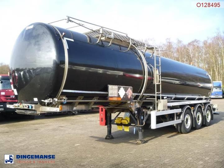 Crossland Bitumen tank inox 33.4 m3 + heating / ADR/GGVS - 2013