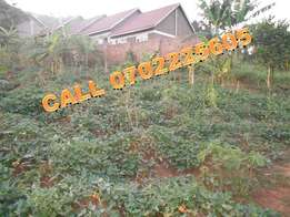 Intimate 50 by 100ft plot for sale in Kireka at 45m
