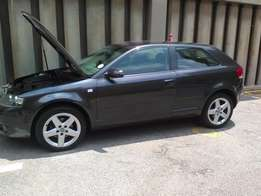 AUDI A3 TDI 2.0 DSG 2007 3 door for sale 189k on the clock, very neat,