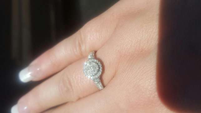 White Gold Diamond Ring for sale Beyerspark - image 3