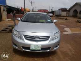 view super clean Toyota corolla 2009 model first body Nigeria used