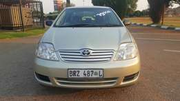 2006 Toyota Corolla 1.6GLE Manual. 143556km. Clean!!