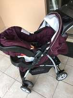 Good condition Graco Pram and cars eat