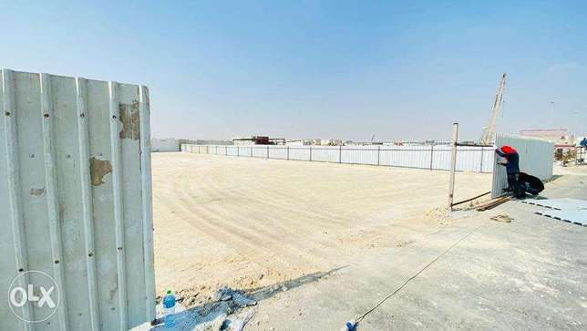 open yard for rent in Doha.
