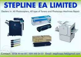 Office machine and equipments repair and maintenance