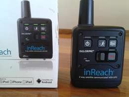 Satellite tracking with built-in GPS - inReach - Delorme - Garmin