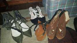 I am selling a variety of ladies second hand clothing and shoes