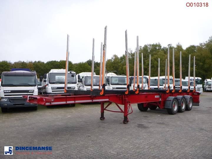 Dennison Log trailer F25SKA - 2001