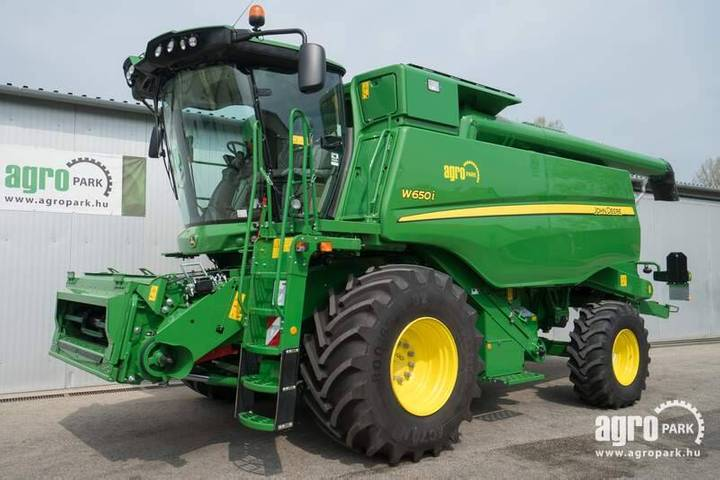 John Deere New W650i, 6 Straw Walkers, 6,1m 620r Header With - 2019