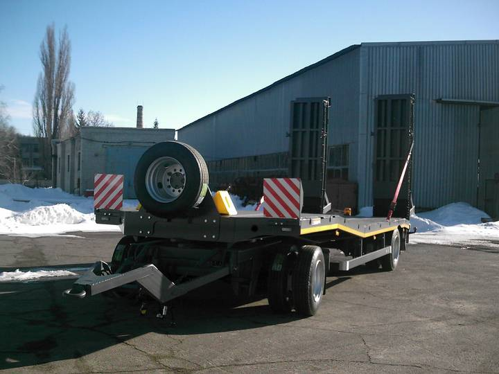Varz PM-1809 2-axle lowbed trailer - 2019