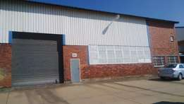 Industrial warehouse space for rent in Robertville