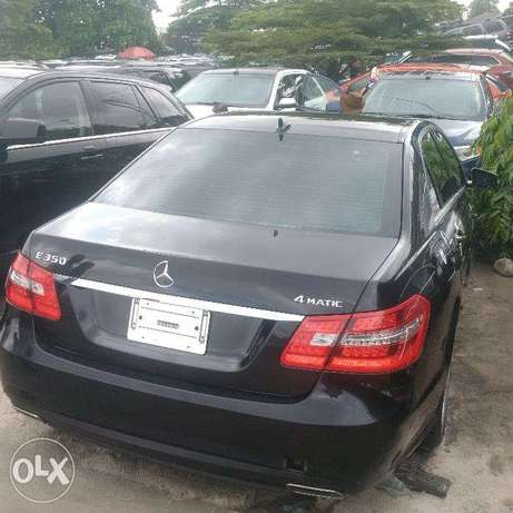 Mercedes Benz E350. 4MATIC 2011. Direct tokunbo Apapa - image 1