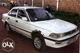 clean toyota ae 91 on sale kabete