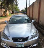 2008 Lexus is250 thumb start in Excellent condition.