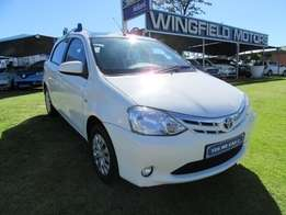 Toyota Etios 1.5 Xs Sprint- Mint Condition
