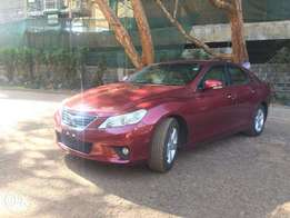Toyota Markx spectacular wine red colour new shape KCP