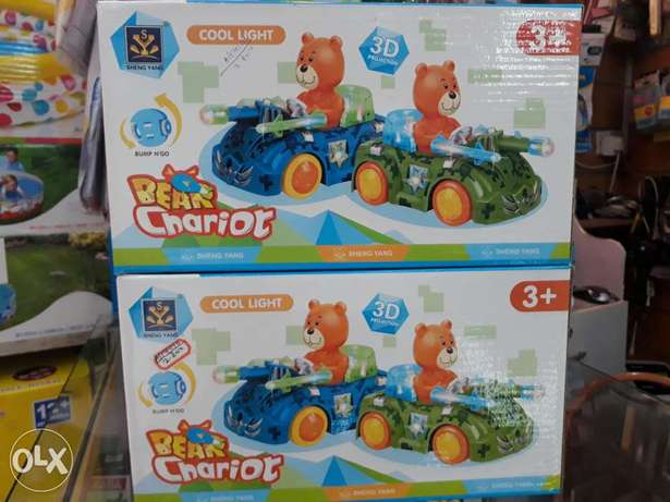 Bear chariot car for bettery oparate