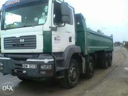 MAN Tipper 2006 fair mileage price 4M