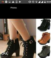 leather ankle boots now available