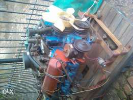 V8 diesel Engine 6.2 with gearbox