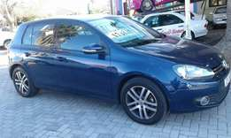 2012 VW Golf 6 1.4 TSi Comfort kms 123822 for R179995
