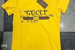 Fresh yellow Gucci top for fashion