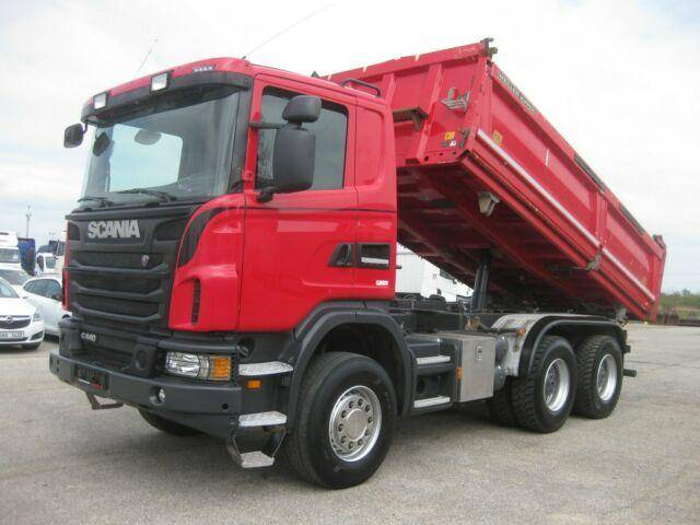 Scania G440 6x4 3 S K Meiller Bordmatik - 2013