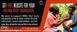 Get Free Website for your NGO/Non for Profit Organisation for free