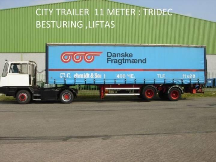 HRD Krone  2 ass citytrailer , 11 mtr , TRIDEC sturing , 2500 - 1999
