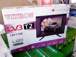 Vitron 19 inch digital TV with over 100 free to air channels
