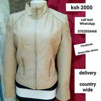 Beige jacket size 8 and 12