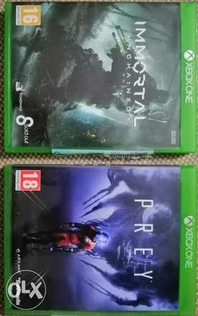 Pery & Immortal Unchained Xbox Games