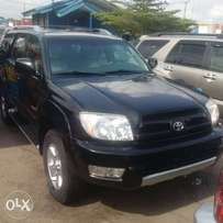 Direct foreign used tincan cleared tokunbo 4runner 2005 limited editio