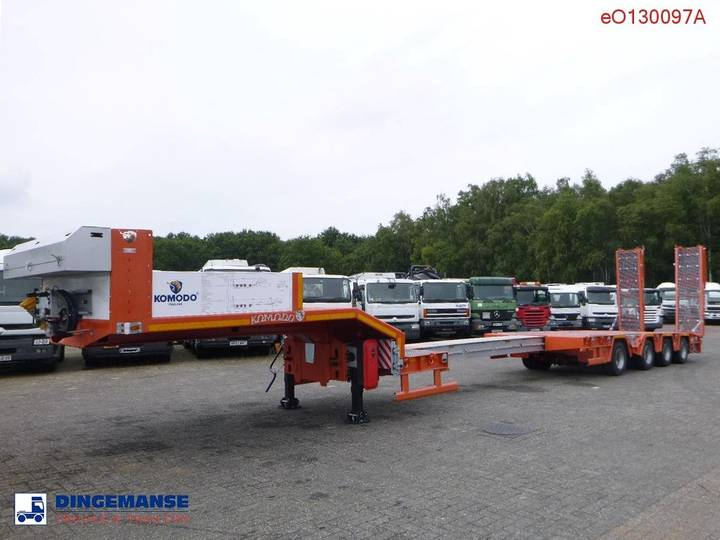 Komodo  Semi-lowbed trailer KMD4 extendable 14 m / NEW/UN...