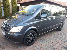 WOW YOU FOUND GOLD! 2012 AUTOMATIC Mercedes Vito Crewbus 8 seater !!