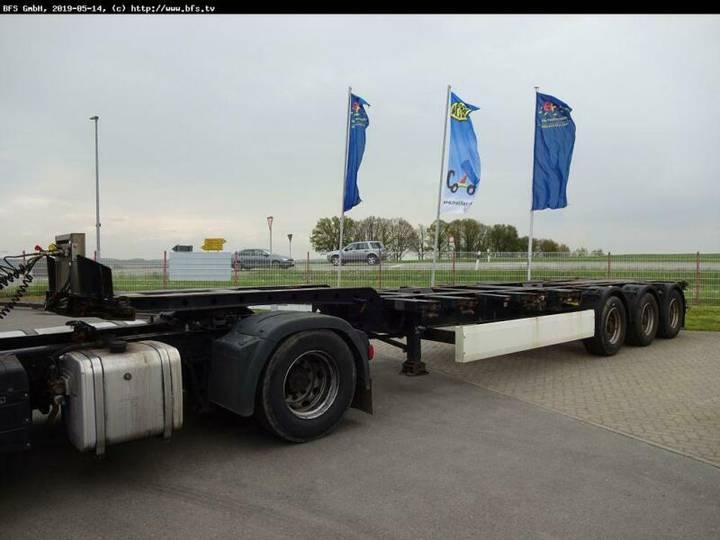 Krone Containerchassis C-Achse Liftbar. Verstellbar. - 2011