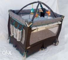 U.S Used Chicco Lullaby Playard Baby Bed (fixed price)