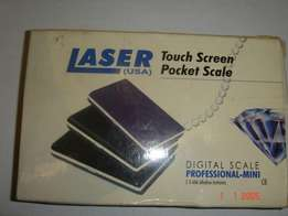 SCALE -LASER Pocket Digital Professional, touch screen, Made in USA