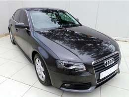 2010 Audi A4 1.8T Attraction auto for sale which has done 128000km