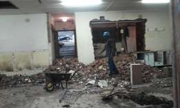 Jm building alterations and rubble cleaning and collecting
