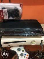 Slim Ps3 with Xbox 360 (120gig )