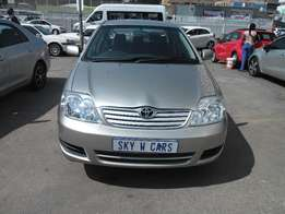 toyota corolla spointer 1.8 2006 model 90000km silver in color R87000